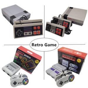 620/621/821 Games Childhood Retro Mini Classic 4K TV AV/HDMI 8 Bit Video Game Console Handheld Gaming Player Gift pk 600 games