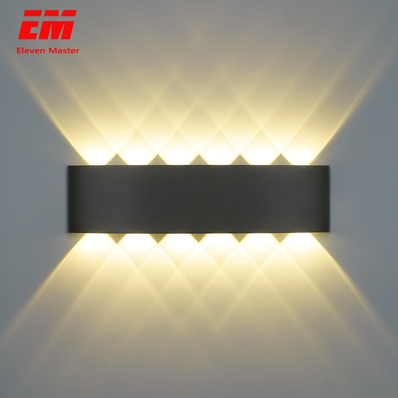 Nordic Wall Lamp Ip65 Led Aluminum Outdoor Up Down wall lights Modern For Home Stairs Bedroom Bedside Bathroom Lighting ZBW0010