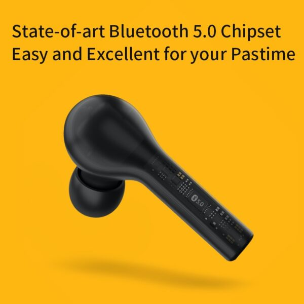 QCY T5 Wireless Bluetooth Headphones V5.0 Touch Control Earphones Stereo HD talking with 380mAh battery-