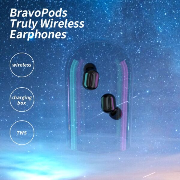 headphones wireless earphones for Xiaomi Redmi Air 5.0 dots TWS wireless bluetooth earphone with mic HD sound for honor redmi