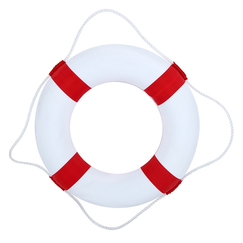 Professional Solid Foam Children Lifebuoy Double Thickening Rescue Float Lifesaver Swimming Ring Pool Float Party Watersport