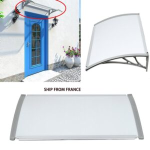 1pc Front Door Window Awning Patio Cover Canopy Multi-size Durable Outdoor Door Canopy Awning Tent Shade Garden Supplies HWC