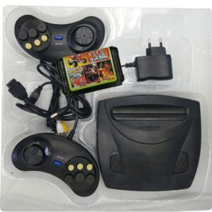 Mini For Sega Genesis 3 Game Console System In Box With Controller Md3 Two Wired Controller Joystick Retro Dual Video Gaming