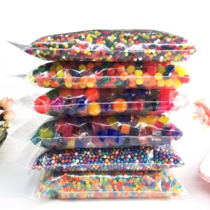200g/lot Crystal Soil Water Beads Hydrogel Gel Polymer Seeds Flow Mud Grow Ball Beads Orbiz Growing Bulbs Children Toy Ball