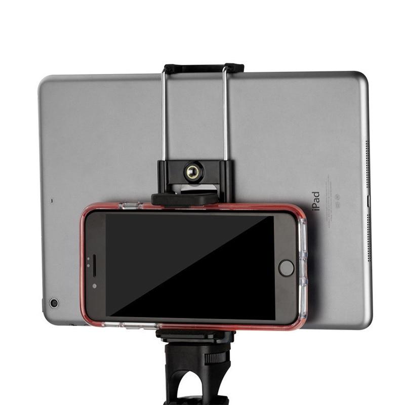 Phone holder stand Tripod Adapter Selfie Sticks Mount Bracket Smartphone Holder for Mobile Phones Tablet Accessories