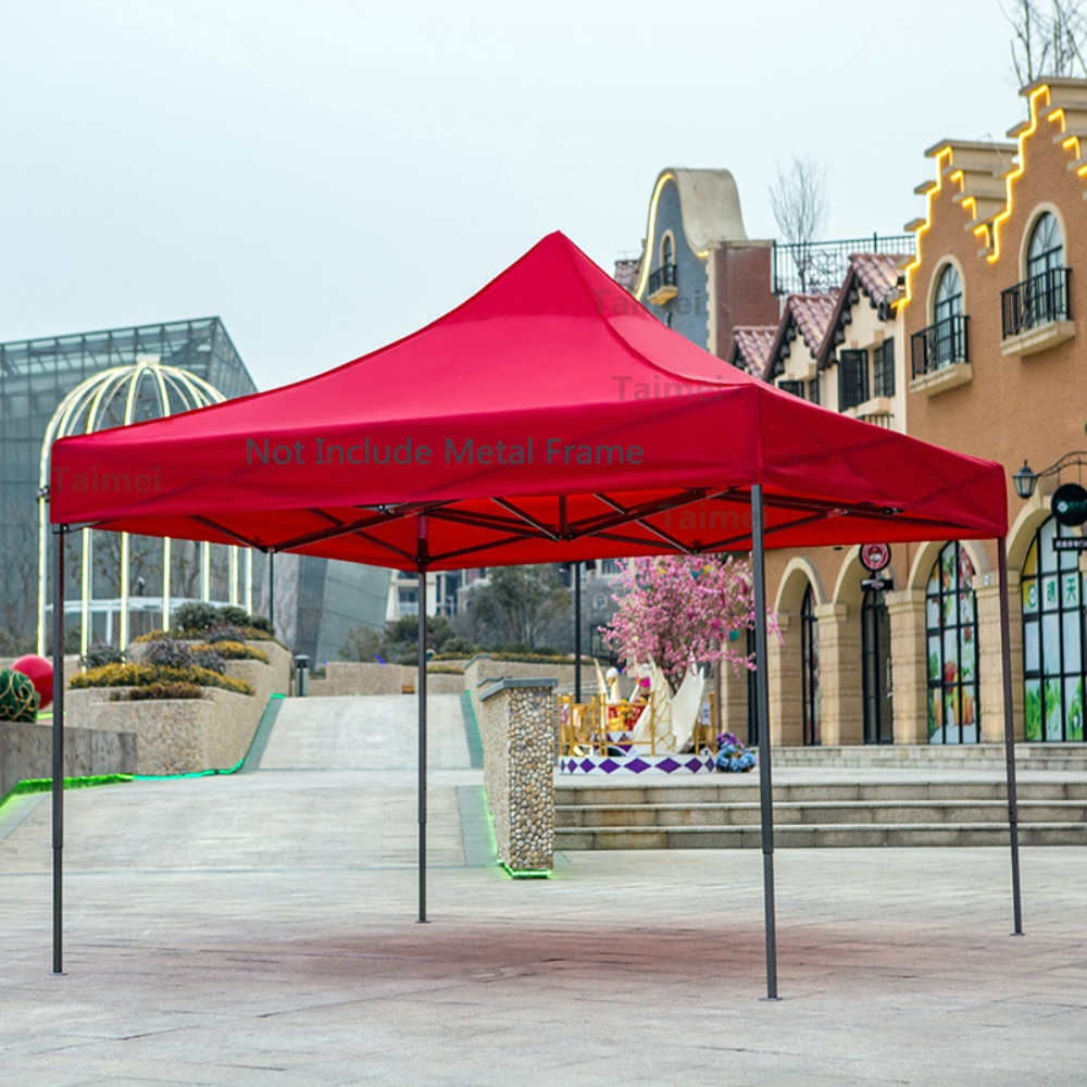 Tents Roof Gazebos Waterproof Garden Canopy Outdoor Marquee Awning Tent Shade Party Pawilon big large folding car Pop Up red