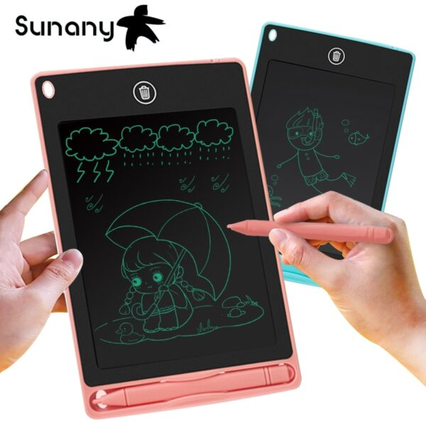 """Sunany drawing tablet 8.5"""" lcd writing tablet electronics graphics tablet drawing board Ultra Thin Portable Hand writing Gifts"""