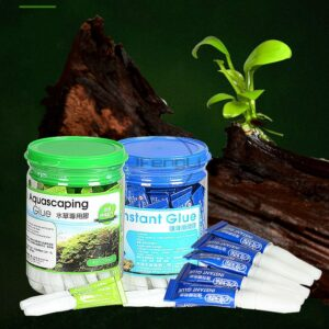 Ista Instant Glue Aquascaping Glue Aquatic Plant dead-wood Moss Coral Sea Fresh Stone Tank Aquarium Can Use In Water or not