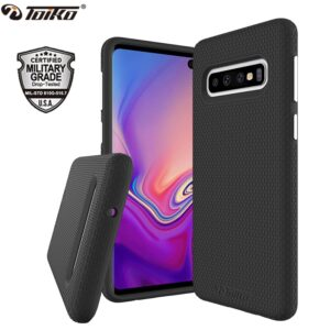 TOIKO X Guard 2 in 1 Protection Case for Samsung Galaxy S10 Shockproof Covers S10e S10 Plus Soft TPU Hard PC Armor Hybrid Shell