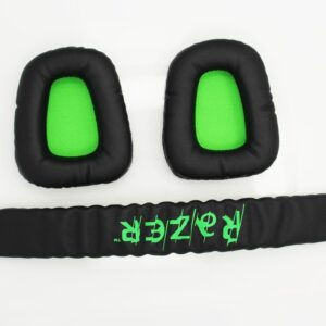 New Maintenance Replacement Top Headband plastic head band parts + ear pads For Kraken Pro Electra Headphones Accessories