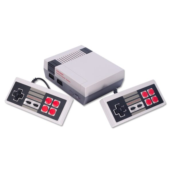 Mini TV Handheld Family Recreation Video Game Console AV Output Retro Built-in 620 Classic Games Dual Gamepad Gaming Player
