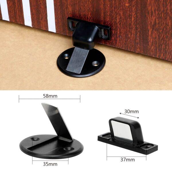 NICEYARD Stainless Steel Door Holder Furniture Hardware Magnet Door Stops Door Stopper Home Improvement