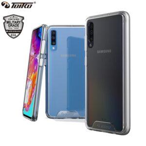 TOIKO Chiron Clear TPU PC Hybrid Phone Case for Samsung Galaxy A10 A20 A30 A40 A50 A60 A70 A80 A51 Shockproof Bumper Back Covers
