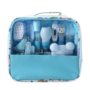 13pcs/Set Newborn Baby Kids Nail Hair Health Care Thermometer Grooming Brush Kit MAY21-D