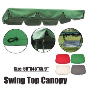 Summer Swing Chair Awning Waterproof Gazebos Canopy Tent for Outdoor Garden Hammock Chair Top Cover