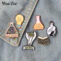 Magic Science enamel pin...