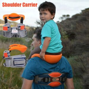 Baby Shoulder Carrier For Daddy Saddle Baby For Kids Outdoor Travel Hands Free Hip Seat Children Strap Rider Brand Baby Carrier