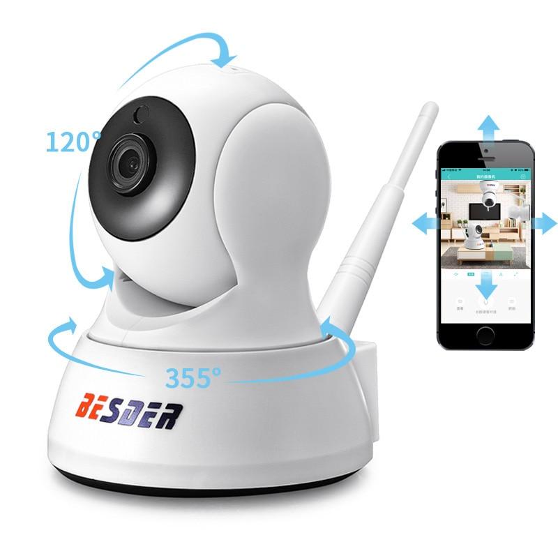 BESDER 1080P 720P Home Security IP Camera Two Way Audio Wireless Mini Camera Night Vision CCTV WiFi Camera Baby Monitor iCsee