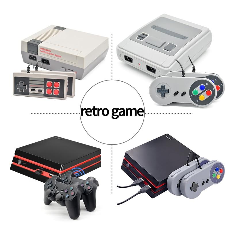 620/621 Games Childhood Retro Mini Classic 4K TV AV/HDMI 8 Bit Video Game Console Handheld Gaming Player Gift pk 600 games