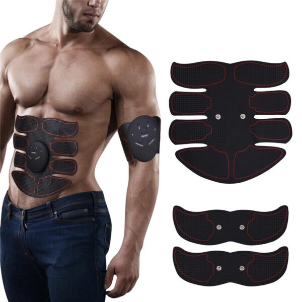 Slimming Fat Burning Exerciser Electric Muscle Training Gym Smart Fitness Muscle Stimulator Abdominal Tool Muscle Stimulator