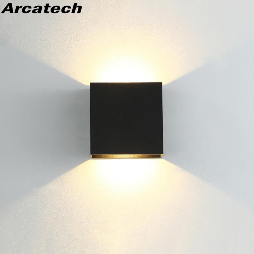 LED Indoor Lighting Wall Lamp Modern Home Lighting Decoration Sconce Aluminum Lamp AC85-265V For Bath Corridor NR-180