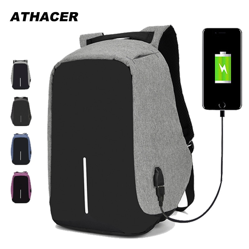 Anti-theft Backpack Bag 15.6 Inch Laptop Men Mochila Male Waterproof Back Pack Backbag Large Capacity School Backpack