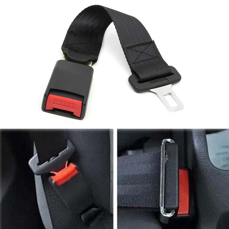 "KWOKKER 14"" Longer 36cm 14"" Universal Car Auto Seat Seatbelt Safety Belt Extender Extension Buckle Seat Belts & Padding Extender"