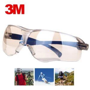3M 10436 Safety Glasses Anti-shock PC Lens Goggles Anti-splash Anti-UV Windproof Riding Protective Glasses Working Eyewear