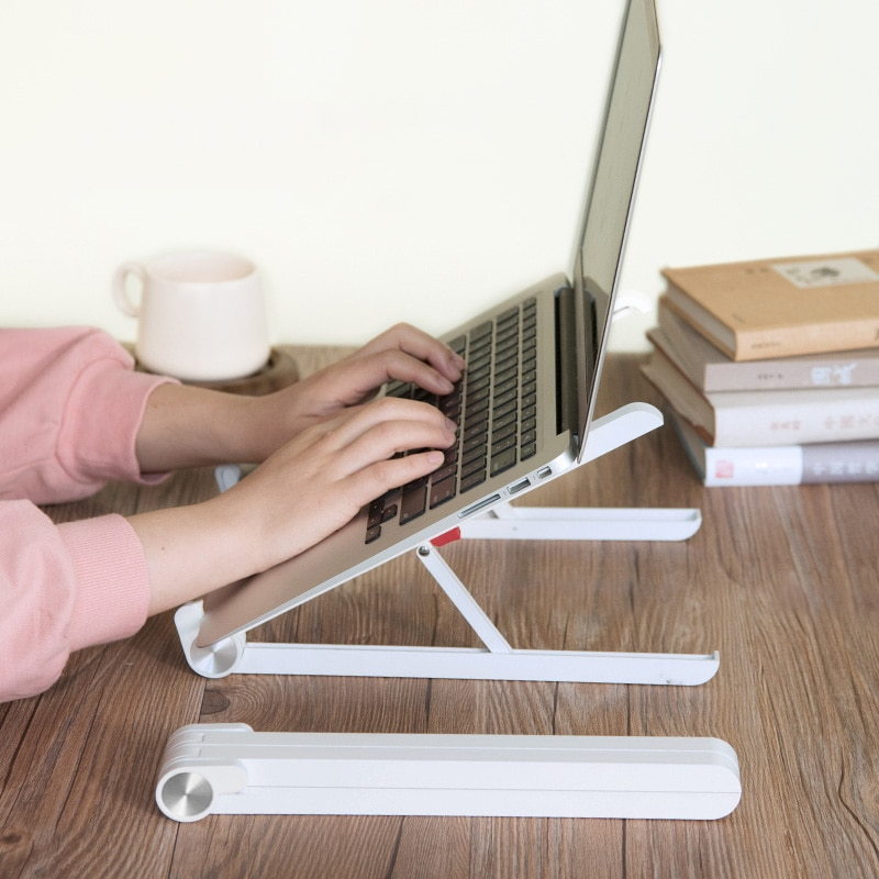 laptop holder monitor macbook notebook stand accessories portable base support bracket
