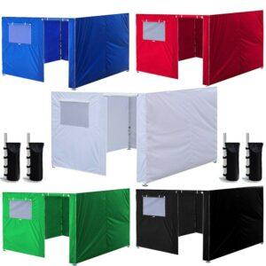 3X3m Ez up Canopy Tent Oxford Cloth Party Tent Wall Sides Waterproof Garden Patio Outdoor Canopy Commercial Instant Gazebos