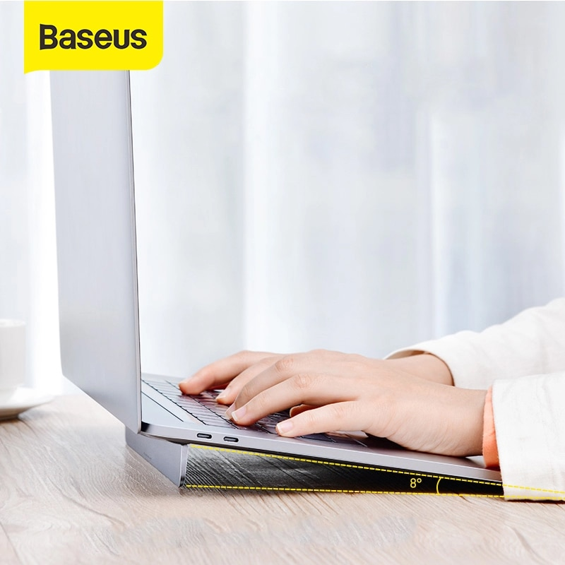 Baseus Laptop Notebook Holder for Macbook Air Pro Laptop Folding Stand Portable Laptop Accessories Holder Stand for 12-17 inch