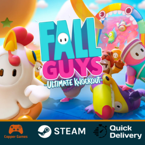 FALL GUYS: Ultimate Knockout   NOT A KEY, PC, Steam account, Global, Online  
