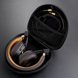 Hard EVA Headphone Case Pouch Travel Bag for Marshall Major I Major II BT MID