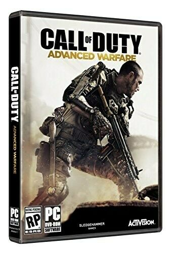 PC GAME CALL OF DUTY ADVANCED WARFARE BRAND NEW & SEALED