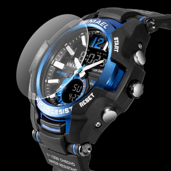 Men Watches SMAEL Sport Watch Waterproof 50M Wristwatch Relogio Masculino Militar 1805 Men's Clock Digital Military Army Watch